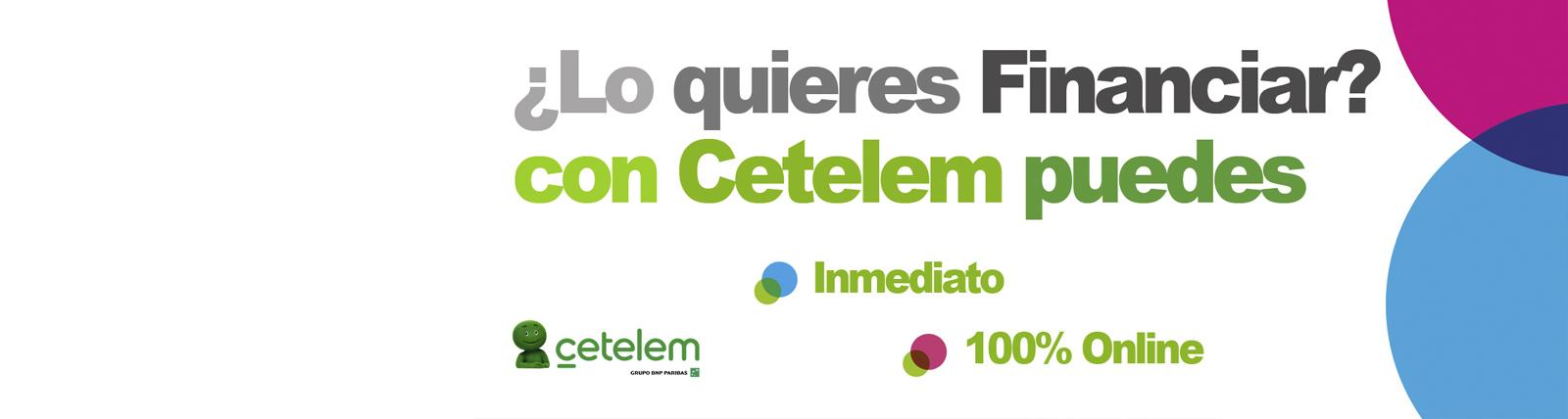Banner Financiación Cetelem