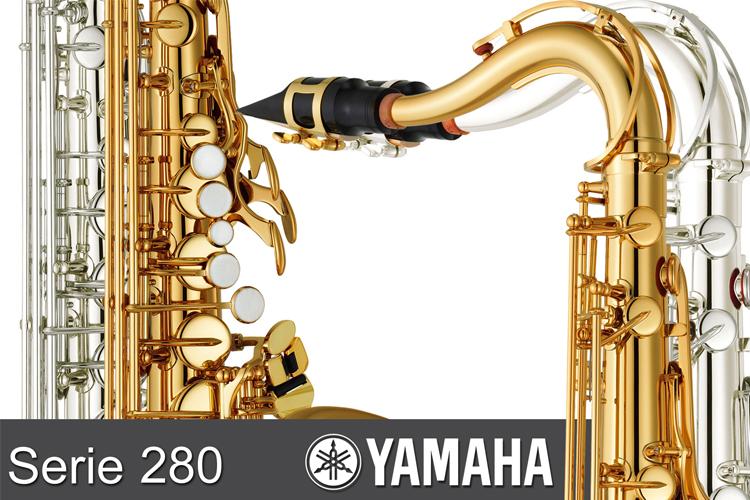 Serie 280 Saxofones Yamaha