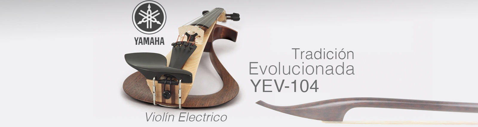Banner violin Yamaha Silent YEV 104