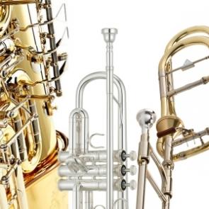 viento metal trompeta trombon tuba trompa corneta