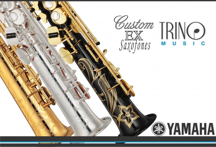 Saxofon soprano yamaha yss 875ex trino music for Yamaha custom ex soprano