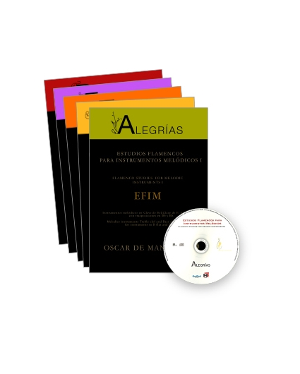 Estudios Flamencos para Instrumentos Melódicos Pack
