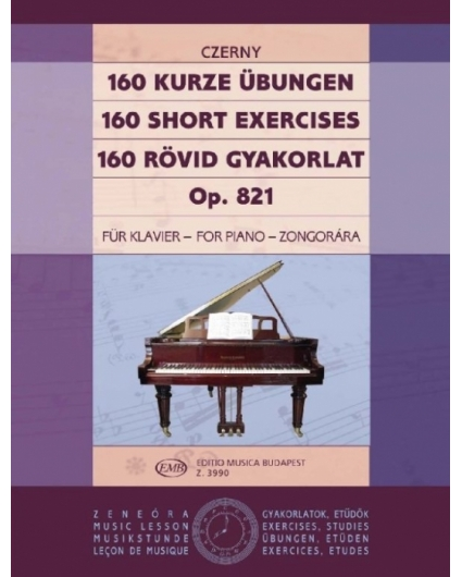 160 Kurze Ubungen Op. 821