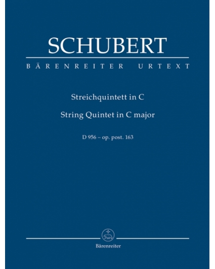 Streichquintett Op.Post. 163 in C Major  Schubert