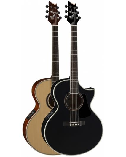Guitarra Acustica Cort NDX-20 Negra