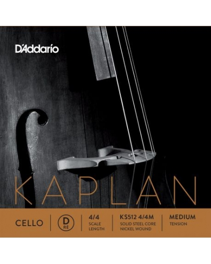Cuerda Cello D'addario Kaplan KS512 RE 4/4M