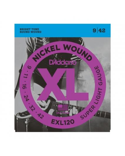 Cuerdas D'Addario XL Nickel Wound EXL120