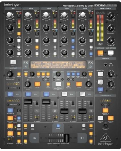 Mesa Dj Behringer Digital Pro DDM4000