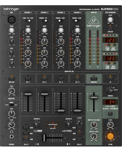 Mesa Dj Behringer Pro DJX900USB