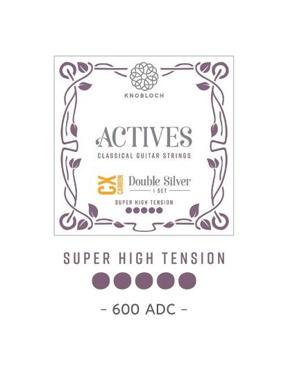 Cuerdas Knobloch Actives Double Silver CX 600ADC Super Alta