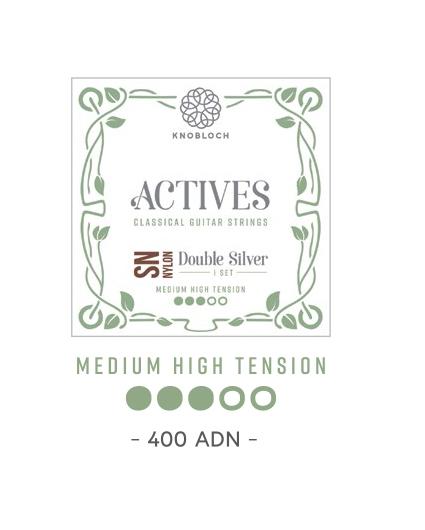 Cuerdas Knobloch Actives Double Silver SN 400ADN Media Alta