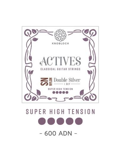 Cuerdas Knobloch Actives Double Silver SN 600ADN Super Alta