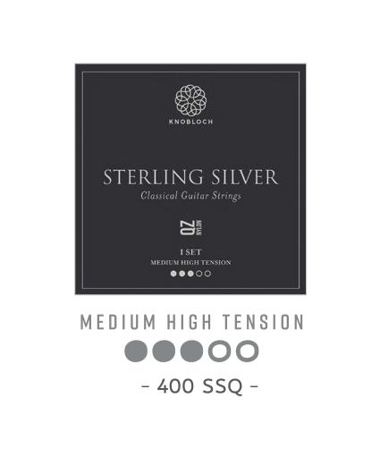 Cuerdas Knobloch Actives Sterling Silver Nylon QZ 400SSQ Medio Alta