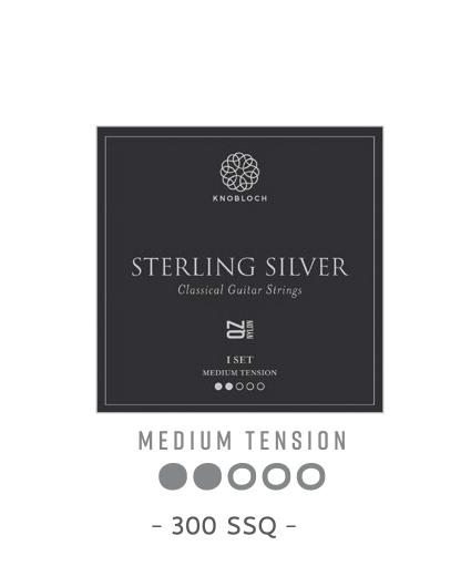 Cuerdas Knobloch Actives Sterling Silver Nylon QZ 300SSQ Media