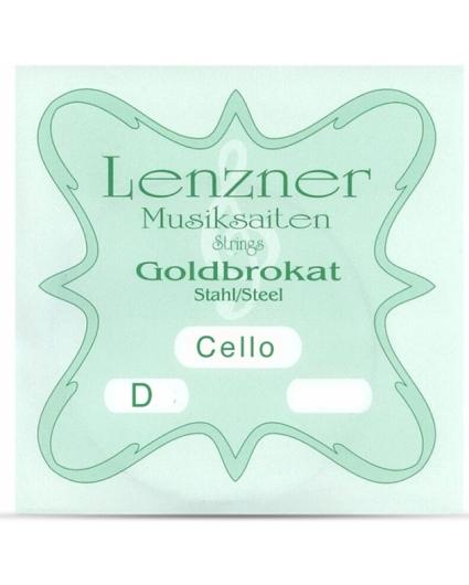 Cuerdas Cello Lenzner Goldbrokat Re