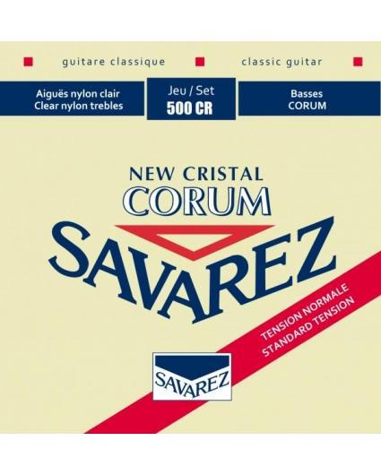 Cuerdas Savarez 500CR New Crystal Corum