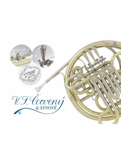Trompa Doble Cerveny CHR-781D