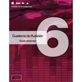 Cuaderno de Audición Vol. 6 Grado Elemental