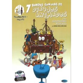 7 Bandas Sonoras de Dibujos Animados CD Trombones y Fagot
