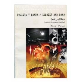 Eolo, el Rey. Solista y Banda/ Full Score