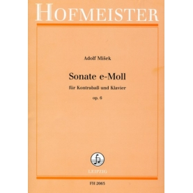Sonata E moll Op.6 für Kontrabas und Klavier