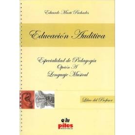 Educación Auditiva Libro Profesor Especial