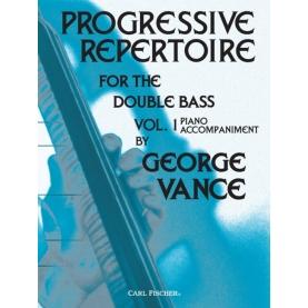 Progressive Repertoire Vol.1 Double Bass/ Acc de Piano