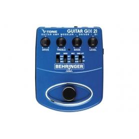 Pedal de simulación V-Tone Guitarra DI GDI21