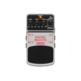 Pedal de Efectos Behringer Digital Multi-Fx FX600