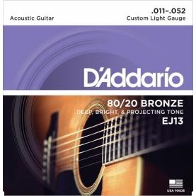 Set D'addario Acustica EJ13