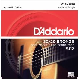 Set D'addario Acustica EJ12