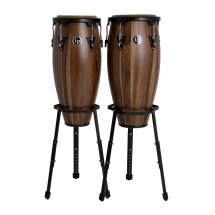 "Set Congas LP Aspire 10"" & 11"" Walnut"