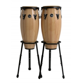"Set Congas LP Aspire 10"" & 11"" Natural"