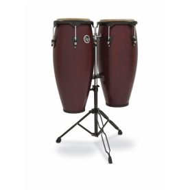 "Set Congas LP City Series 11"" & 12"" Dark Wood"