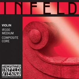 Juego Cuerdas Violin Thomastik Infeld Roja IR100