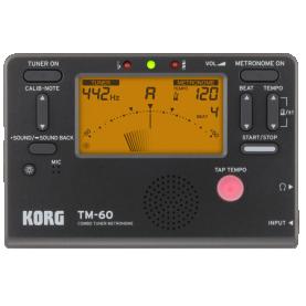 Metronomo/Afinador Korg TM-60 BK