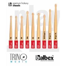 Baquetas Balbex Premium Hickory Classic