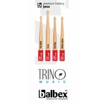 Baquetas Balbex Premium Hickory Jazz