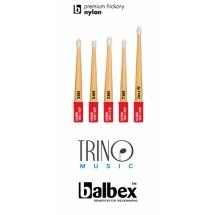 Baquetas Balbex Premium Hickory Nylon