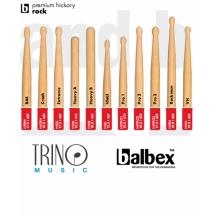 Baquetas Balbex Premium Hickory Rock