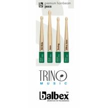 Baquetas Balbex Premium Hornbeam Jazz