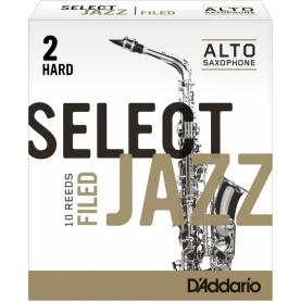 Caña Saxofon Alto D'addario Select Jazz Filed 2H