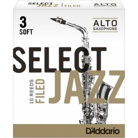 Caña Saxofon Alto D'addario Select Jazz Filed 3S