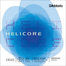 Cuerda Re Cello D'addario Helicore H512