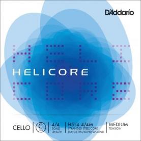 Cuerda Do Cello D'addario Helicore H514