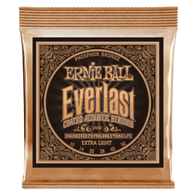 Cuerdas Ernie Ball Everlast Phosphor Bronze Extra Light