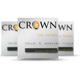 Juego Cuerdas Cello Larsen Crown