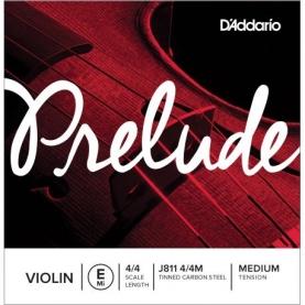 Cuerda MI Violin D'addario Prelude J811