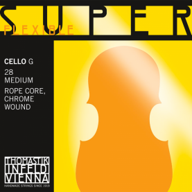 Cuerda Sol Cello Thomastik Superflexible