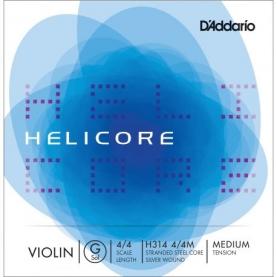 Cuerda Sol Violin D'addario Helicore H314